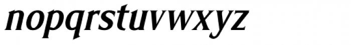 Limonata Condensed Medium Italic Font LOWERCASE