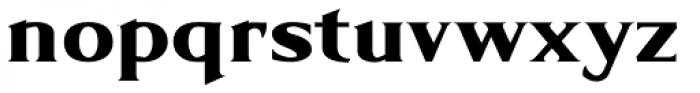 Limonata Extended ExtraBold Font LOWERCASE