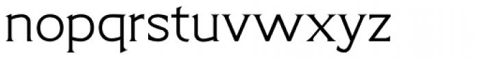 Limonata Extended Light Font LOWERCASE