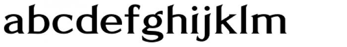 Limonata Extended Medium Font LOWERCASE