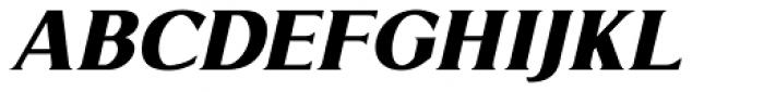 Limonata ExtraBold Italic Font UPPERCASE