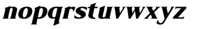 Limonata ExtraBold Italic Font LOWERCASE