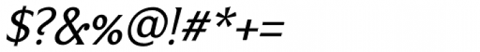Limonata Italic Font OTHER CHARS