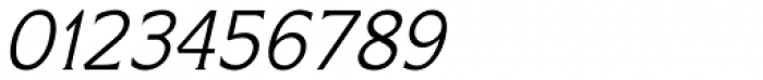 Limonata Light Italic Font OTHER CHARS