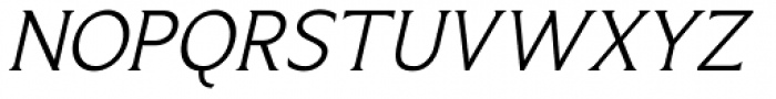 Limonata Light Italic Font UPPERCASE