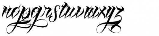 Lina Script Alt Pro Font LOWERCASE
