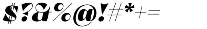 Lince Sans Black Oblique Font OTHER CHARS