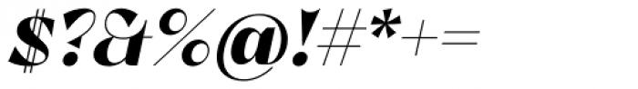 Lince Sans Bold Oblique Font OTHER CHARS