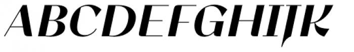 Lince Sans Bold Oblique Font UPPERCASE