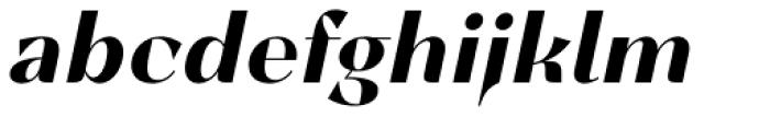 Lince Sans Bold Oblique Font LOWERCASE