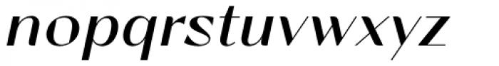 Lince Sans Oblique Font LOWERCASE