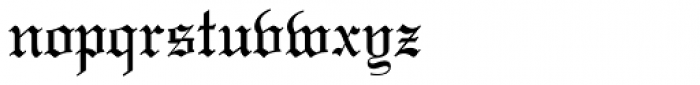 Lincoln Text Pro Font LOWERCASE