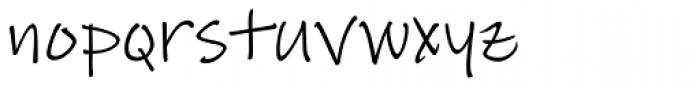 Lindsey Pro Font LOWERCASE