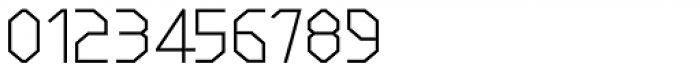 LineWire Light Font OTHER CHARS