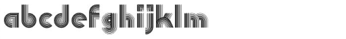 Linea Font LOWERCASE
