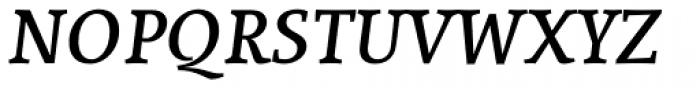 Lineare Serif Bold Italic Font UPPERCASE