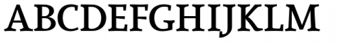Lineare Serif Bold Font UPPERCASE