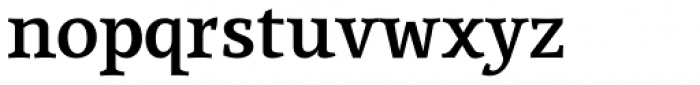 Lineare Serif Bold Font LOWERCASE