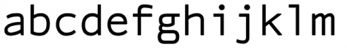 Linefeed Font LOWERCASE