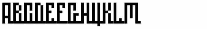 Linemap Regular Font UPPERCASE
