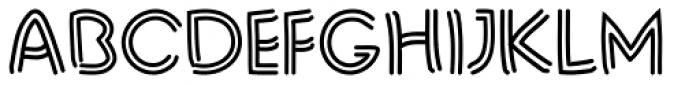 Liner Notes Bold Font UPPERCASE