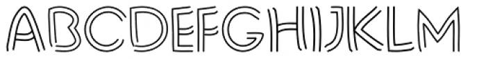 Liner Notes Font UPPERCASE