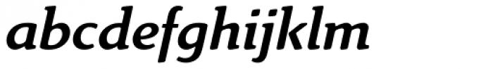 Linex Sweet Std Italic Font LOWERCASE