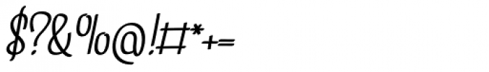 Linguine Bold Italic Font OTHER CHARS