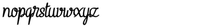 Linguine Bold Italic Font LOWERCASE