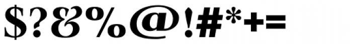 Lingwood TS Bold Font OTHER CHARS