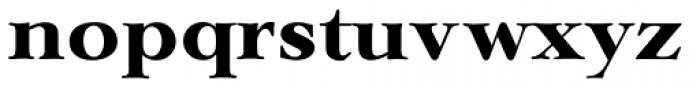 Lingwood TS Bold Font LOWERCASE