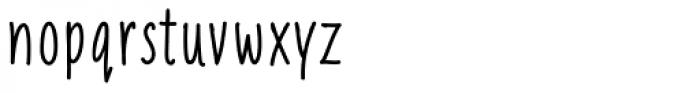 Liniga Font LOWERCASE