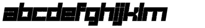 Links Square Oblique Font UPPERCASE