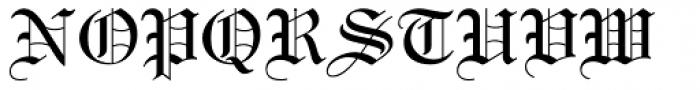 Linotext Font UPPERCASE