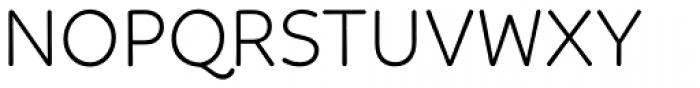 Linotte Light Font UPPERCASE