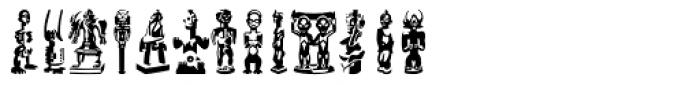 Linotype Afroculture Regular Font LOWERCASE