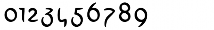 Linotype Arab Stroke Regular Font OTHER CHARS