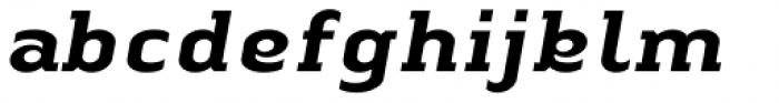 Linotype Authentic Serif Std Medium Italic Font LOWERCASE