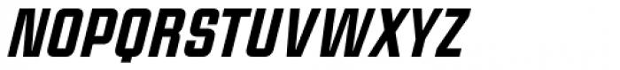 Linotype CaseStudyNo1 Black Italic Font UPPERCASE
