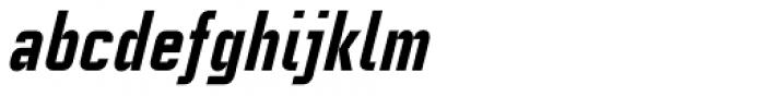 Linotype CaseStudyNo1 Pro Heavy Italic Font LOWERCASE