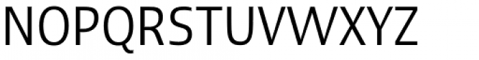 Linotype Ergo Com Condensed Font UPPERCASE