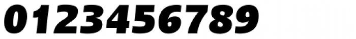 Linotype Ergo Pro Black Condensed Italic Font OTHER CHARS