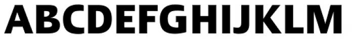 Linotype Ergo Pro Bold Condensed Font UPPERCASE