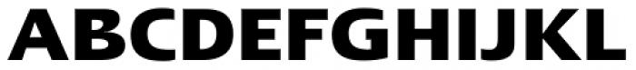 Linotype Ergo Pro Bold Font UPPERCASE
