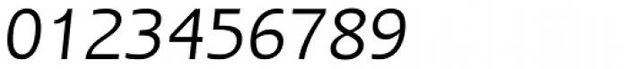 Linotype Ergo Pro Italic Font OTHER CHARS