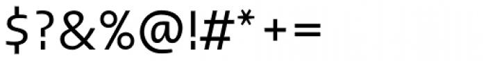 Linotype Ergo Regular Font OTHER CHARS