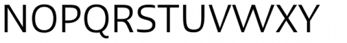 Linotype Ergo Regular Font UPPERCASE