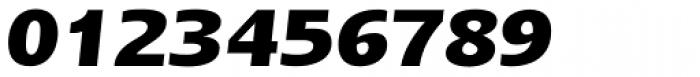 Linotype Ergo W1G Bold Italic Font OTHER CHARS