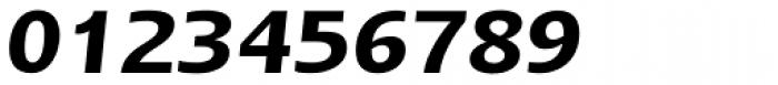 Linotype Ergo W1G DemiBold Italic Font OTHER CHARS