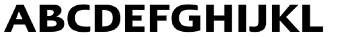 Linotype Ergo W1G DemiBold Font UPPERCASE